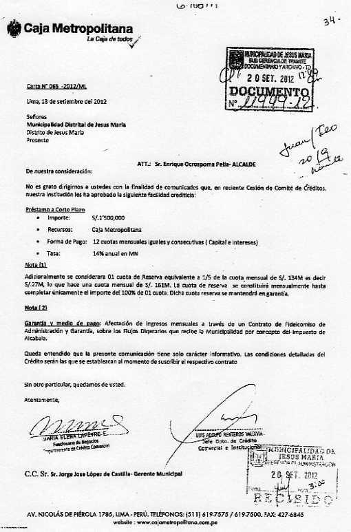 ¡Caja Metropolitana ...