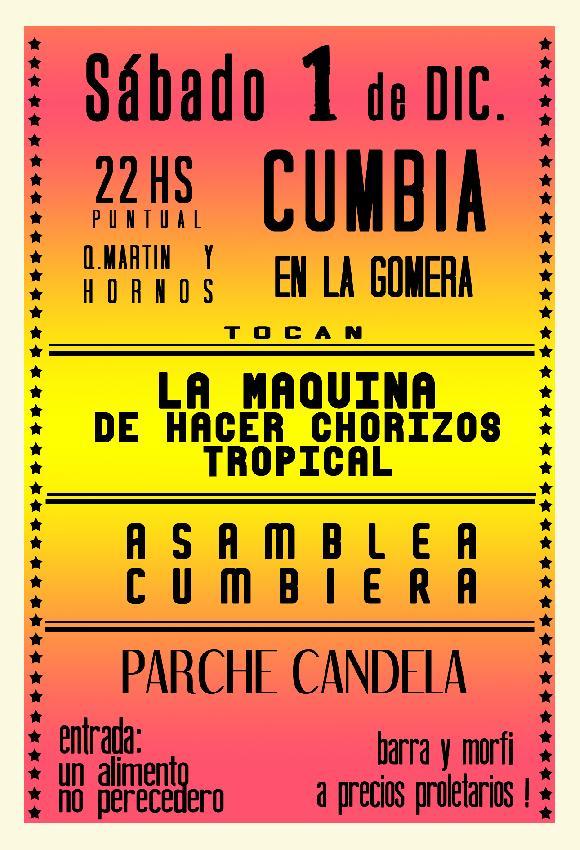 Cumbia en La Gomera ...