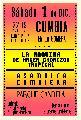 Cumbia en La Gomera / s�bado 1� de diciembre / 22 hs.