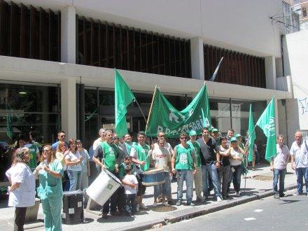 Protesta de trabajad...