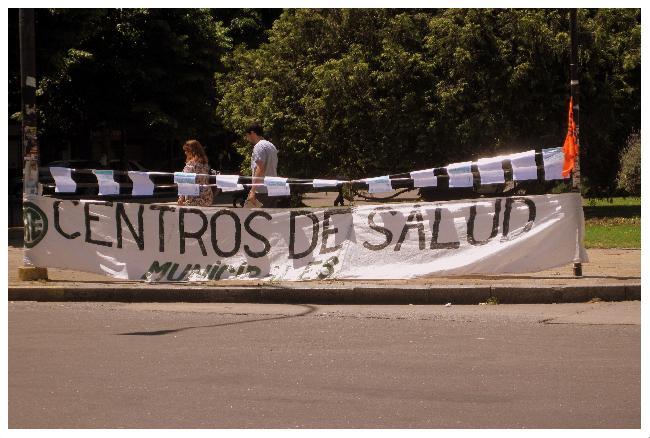 Jornada de protesta...