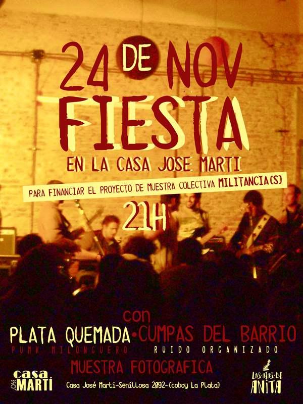 Fiesta 24/11 militan...