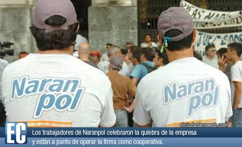 Trabajadores de Nara...