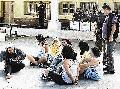 Acto/ repudio frente a la embajada de paraguay