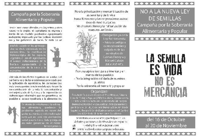 """No a la """"Ley Mo..."""