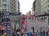 Jornada en contra de la precarizaci�n del trabajo en Buenos Aires