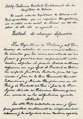 Per�-Bolivia 1873: E...