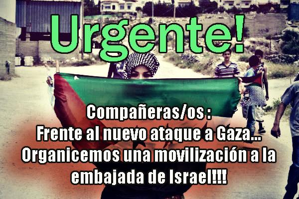 Gaza es atacada ahor...