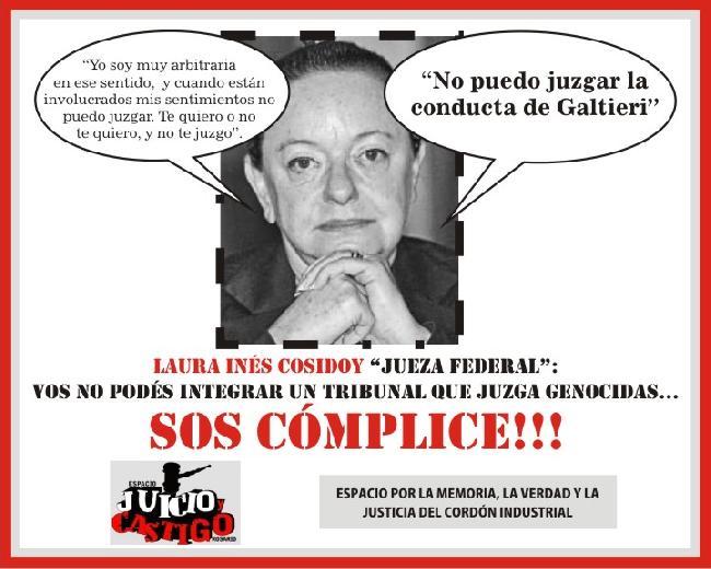 Exigimos que Laura I...