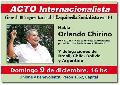 Domingo 9/12: Acto internacionalista en Unione y Benevolenza