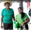 La se�ora muri�, el esposo herido y la nieta muy grave