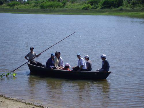 Paseo en canoa...