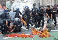 La pol�cia reprimiendo a compa�eros del Partido Obrero