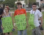 Malvinas Argentinas sigue diciendo fuera Monsanto!!!