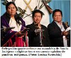 Pueblos ind�genas demandan ser escuchados