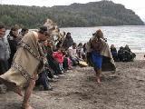 Con una ceremonia, la comunidad Paichil Antriao inaugur� la temporada en el Correntoso