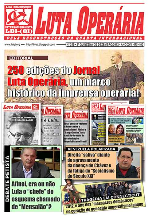 Jornal Luta Operária...