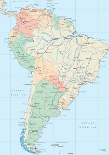 Rios de sudamerica...