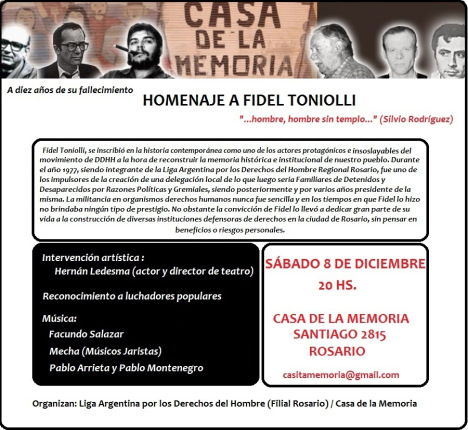 Homenaje a Fidel Ton...