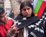 'No estamos haciendo una reivindicaci�n, sino apelando a tratados ya existentes'