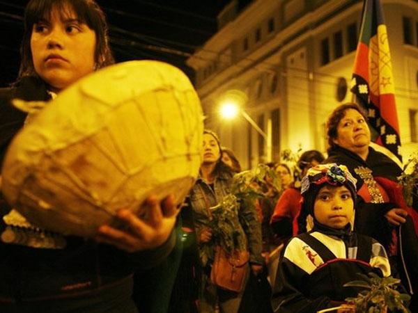 Conflicto en Chile: ...
