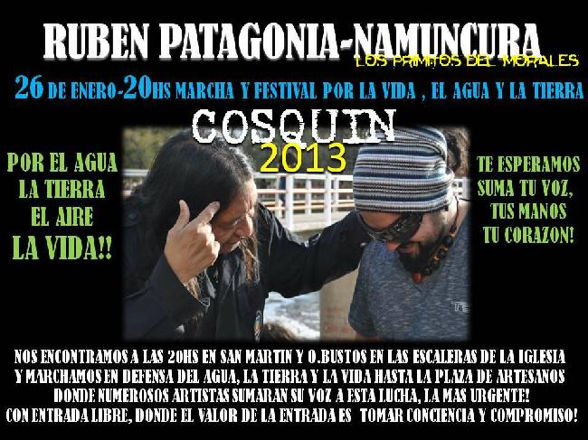 Cosquin 26/01: march...