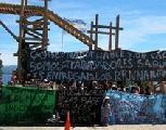Urgente: Cinco detenidos en el acampe en Bariloche