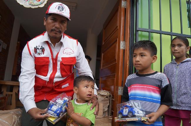 Perú: 100% en obras,...