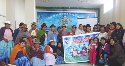 Perú: Mujeres aymara...