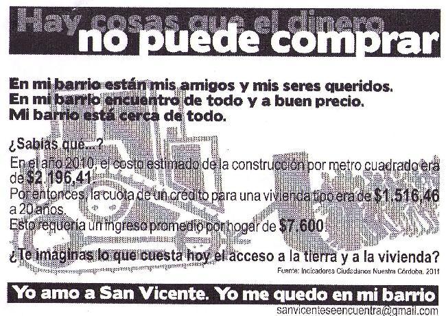 Yo amo a San Vicente...