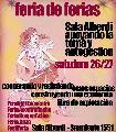 Feria de ferias en apoyo de la toma y autogesti�n de la Sala Alberdi