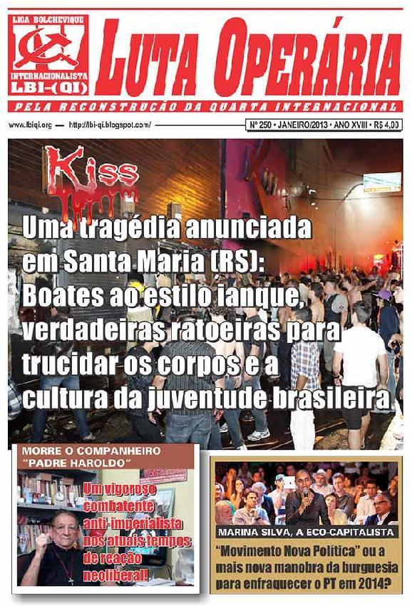 Jornal Luta Oper�ria...