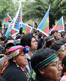 Mapuches convocan al...