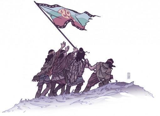 Los mapuches también...