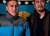 Marcha por los presos pol�ticos mapuche