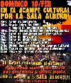 Actividades del domingo 10/feb en el acampe cultural
