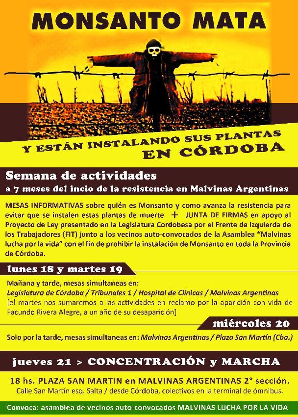Monsanto MATA y esta...