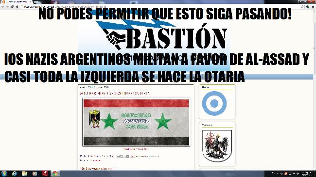 LOS NEO-NAZIS DEFIEN...