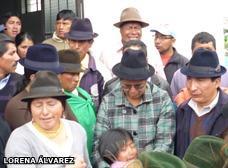 Ecuador: L�der ind�g...