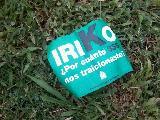 Volantes por la decisi�n de Irico de ceder sus votos al candidato oficilalista.
