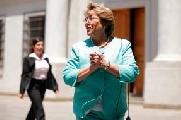 Lonco Kalfunao: Bachelet no es bienvenida al pa�s por atrocidades cometidas...