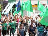 Ante la falta de respuestas del gobierno provincial: ATE Rosario contin�a el plan de lucha