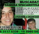 Contin�a la b�squeda de Sandra Spacarotella