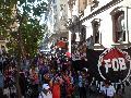 Bs As: marcha en repudio a la represion en el hospital Borda