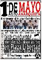 1� de mayo Acto Anarquista en Pza Libertad - 16 hs