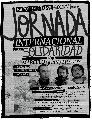 Convocatoria internacional por Freddy, Marcelo y Juan