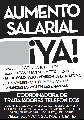 Aumento Salarial �YA! Paritaria 2013
