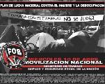 Plan de Lucha Nacional por una Vida Digna... contra el hambre y la desocupaci�n