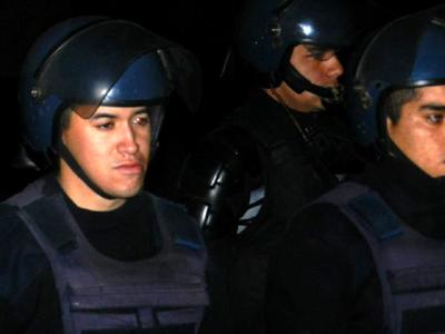 Fotos: represión a c...