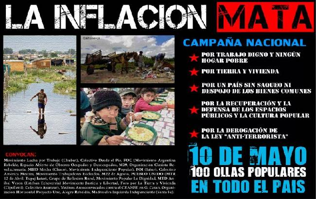 10 de Mayo 100 ollas...